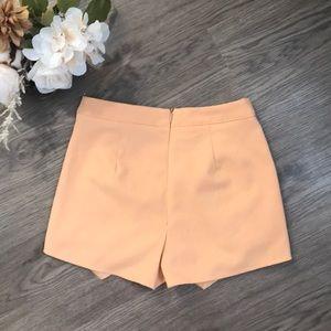 Missguided Shorts - Missguided crepe mini skort